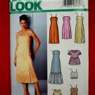 New Look Pattern # 6247 UNCUT Misses Summer Dress Top Size 6 8 10 12 14 16