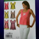 Simplicity Pattern # 4176 UNCUT Misses Summer Top/Tunic Variations Size 4 6 8 10 12