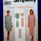 Simplicity Pattern # 7965 UNCUT Misses Dress Jacket Size 8 10 12
