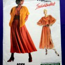 Vogue Pattern # 1985 UNCUT Misses Top Skirt Jacket Size 12