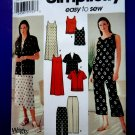 Simplicity Pattern # 7158 UNCUT Misses Wardrobe Top Dress Pants Size 8 10 12 14