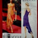 Vogue Pattern # 2157 UNCUT Misses Formal Dress Size 12 14 16 Givenchy Paris Original