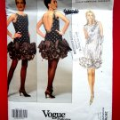 Vogue Pattern # 2876 UNCUT Misses Special Occasion Dress Size 6 8 10 Victor Costa
