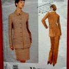 Vogue Pattern # 1508 UNCUT Misses Jacket Skirt Pants Size 8 10 12 Calvin Klein Vintage 1994
