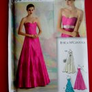 Simplicity Pattern # 0650 UNCUT Misses Gown Long Special Occasion Dress Size 4 6 8 10 12