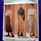 Vogue Pattern # 1790 UNCUT Misses Skirt Variations Size 10 ONLY Calvin Klein Designer