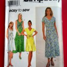 Simplicity Pattern # 7963 UNCUT Misses Pullover Dress Size 10 12 14