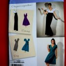 Simplicity Pattern # 2549 UNCUT Misses Dress Size 6 8 10 12 14 Long Short Skirt Variations