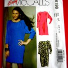 McCalls Pattern # 6198 UNCUT Misses Dress Variations in sizes 6 8 10 12
