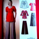 New Look Pattern # 6836 UNCUT Misses Top Pants Size 8 10 12 14 16 18