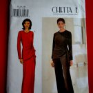 Butterick Pattern # 3371 UNCUT Misses Top Skirt Pants KNITS ONLY Size 14 16 18 Designed by Chetta B
