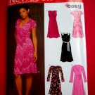 New Look Pattern # 6429 UNCUT Misses Dress Variations STRETCH KNITS Size 8 10 12 14 16 18