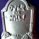 WILTON Cake Pan OVER THE HILL / TOMBSTONE ~ BIRTHDAY ~ Senior  #2105-1237