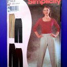 Simplicity Pattern # 9943 UNCUT Misses Straight Legged Pants Waist 25 26 27 ½ 29 31 33 All sizes