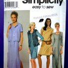 Simplicity Pattern # 9260 UNCUT Misses Dress Vest Size 10 12 14 16 18 20 22