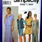 Simplicity Pattern # 9260 UNCUT Misses Dress Vest Size 10 12 14 16 18 20 22