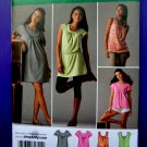Simplicity Pattern # 2934 UNCUT Misses Top Dress Tunic STRETCH KNITS ONLY Size 6 8 10 12 14