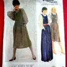 Vogue Pattern # 2872 UNCUT Misses Jumper/Dress and Blouse Size 14 ONLY Designer Geoffrey Beene
