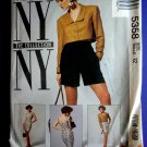 McCalls Pattern # 5358 UNCUT Misses Lined Jacket Dress Pants Size 12 ONLY Bust 34 inches NY