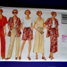 Butterick Pattern # 4507 UNCUT Misses Wardrobe Top Shirt Skirt Pants Size XS Small Medium