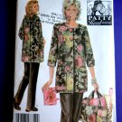 Simplicity Pattern # 4746 UNCUT Misses Hobby Coat Pants Tote Size XS Small Medium