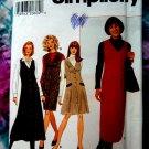 Simplicity Pattern # 7759 UNCUT Misses Jumper Size 6 8 10 12