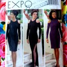 Butterick Pattern # 3014 UNCUT Misses Dress STRETCH KNITS ONLY Evening Length / Short Size 14 16 18