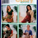 Simplicity Pattern # 9684 UNCUT Misses Design Apron/Aprons Size Small Medium Large