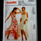 Burda Sewing Pattern # 8196 UNCUT Misses Summer Dancing Dress Size 10 12 14 16 18 20