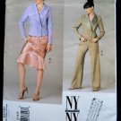 Vogue Pattern # 2781 UNCUT Misses Jacket Skirt Pants Size 14 16 18 NY New York Collection