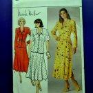 Butterick Pattern # 3722 UNCUT Misses Top Skirt Nicole Miller Vintage 1986  Size 14 16 18