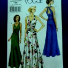 Vogue Pattern # 8556 UNCUT Misses Summer Long Dress Size 8 10 12 14