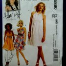 McCalls Pattern # 5880 UNCUT Misses Lined Tunic Summer Dress Size 4 6 8 10 12
