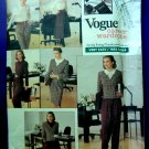 Vogue Pattern # 2329 UNCUT Misses Wardrobe Jacket Blouse Skirt Pants Size 6 8 10 Vintaqge 1989
