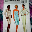 Butterick Pattern # 4451 UNCUT Misses Special Occasion Top Skirt Shrug Size 14 16 18 20