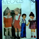 McCalls Pattern # 2259 UNCUT Toddlers Dress Pants Shorts Size 4 Vintage 1985