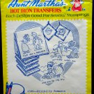 Embroidery Transfer Pattern ~Hillbilly Romance #3598 Aunt Martha's