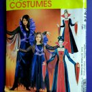 McCalls Pattern # P 414 UNCUT Misses Costume Dress Vampire Size Small Medium Large XL