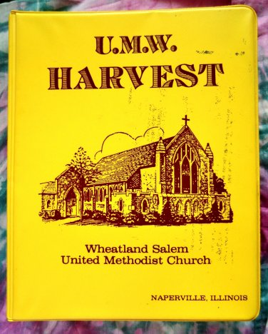 Naperville Illinois United Methodist Church Cookbook 1985