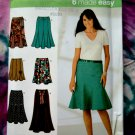 Simplicity Pattern # 4365 UNCUT Misses Gored Skirt Variations Size 6 8 10 12 14