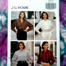 Butterick Pattern # 6597 UNCUT Blouse Variations JG Hook Size 18 20 22