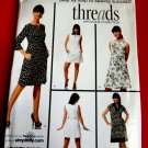 Simplicity Pattern # 3744 UNCUT Misses Dress Variations Threads Collection Size14 16 18 20 22.