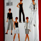Butterick Pattern # 3467 UNCUT Misses Jacket Top Skirt Pants STRETCH KNITS ONLY Size 6 8 10