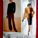 Vogue Pattern # 2355 UNCUT Misses Jacket Skirt Pants Size 18 20 22 Anne Klein American Designer