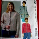 McCalls Pattern #4792 UNCUT Misses Woman's Lined Jacket Two Lengths Size 18 20 22 24