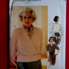 Vogue Pattern # 8603 UNCUT Misses Blouse Size 18 20 22