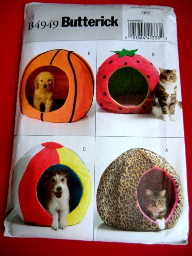 Butterick Pattern # 4949 UNCUT Pet Bed UNIQUE!
