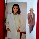 Vogue Pattern # 8605 UNCUT Misses Lined Jacket Size 20 22 24