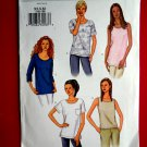 Butterick Pattern # 3383 UNCUT Misses Top Variations Size XS Small Medium