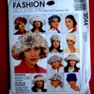 McCalls Pattern # 3044 UNCUT Misses Hat Variations and Scarf